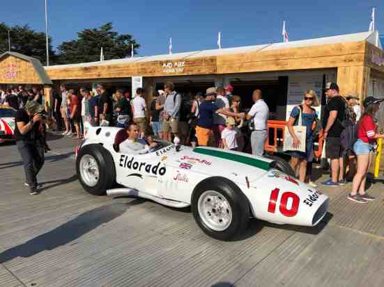 "Mein erstes Mal: Goodwood ""Festival of Speed"""