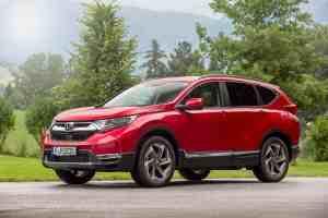 Honda gibt Preise für den CR-V bekannt