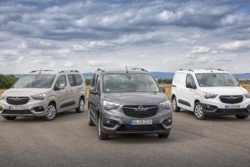 Opel mit neuem Combo Cargo und Combo Life XL auf Nutzfahrzeuge IAA