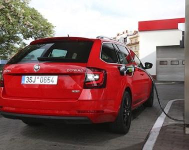Škoda Octavia Combi G-TEC: Bis zu 480 Kilometer Reichweite im Erdgasmodus