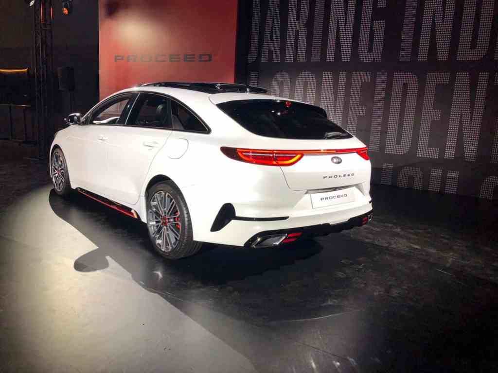 Neuer Kia ProCeed kommt als fünftüriger Shooting Brake