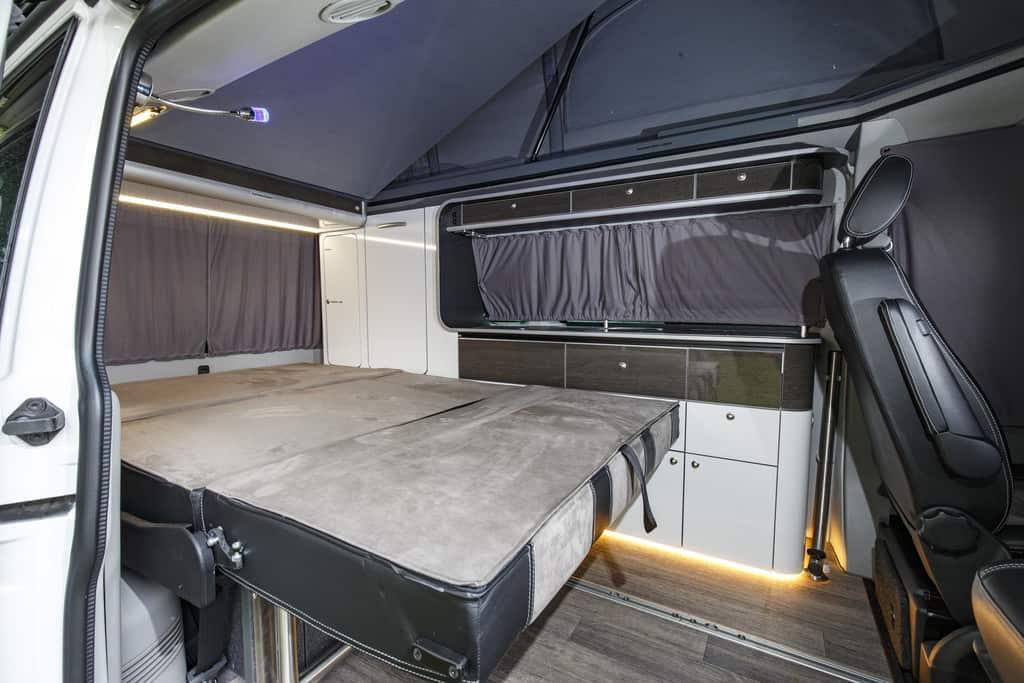 Reimo Carrara: Mehr Platz im Bereich der Sitzbank