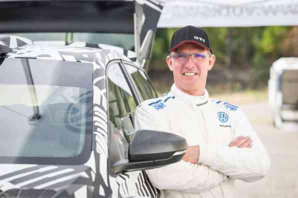 VW Polo GTI R5: Test- und Entwicklungsfahrer Dieter Depping.