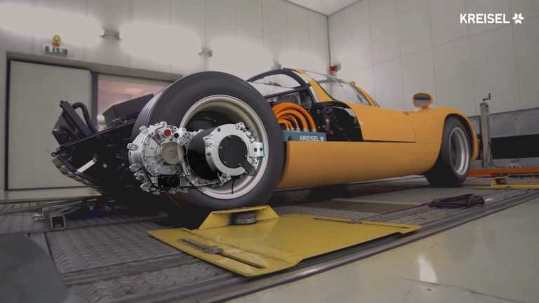 Kreisel Sala Zwei-Gang-Getriebe für Elektromotoren.