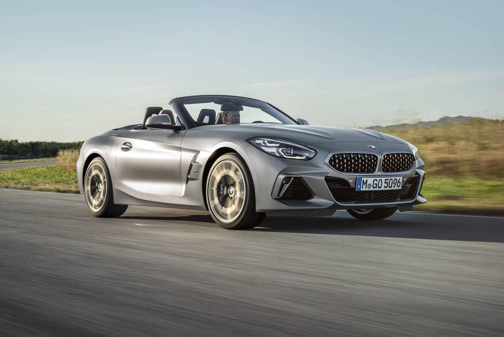 BMW mit neuem Z4 in Paris
