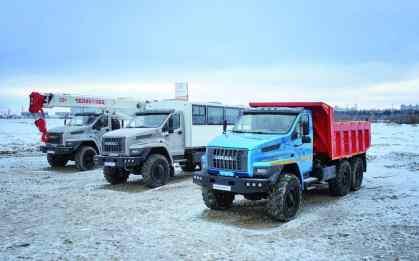 Ural Next 6x4.