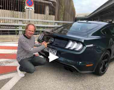 Ford Mustang Bullitt Edition - Soundcheck!