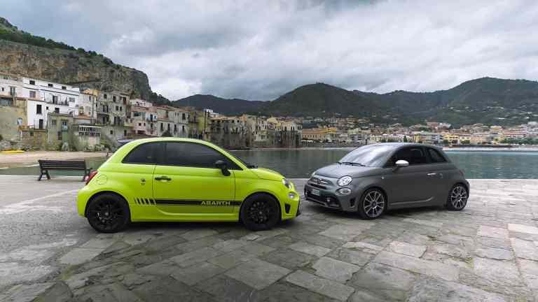 Neue Abarth 595 Modelle auf der Targa Florio