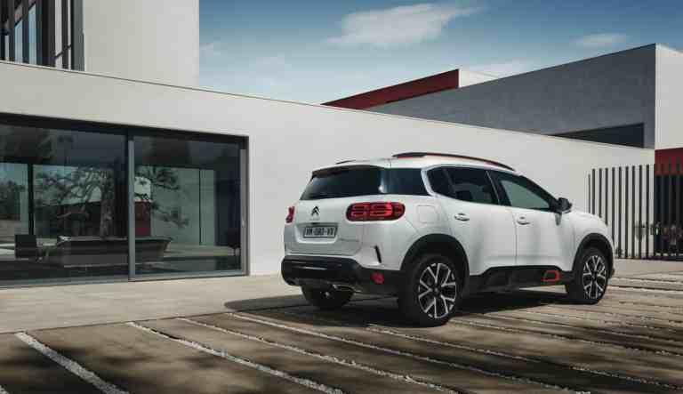 Citroën öffnet die Bestellbücher für den C5 Aircross