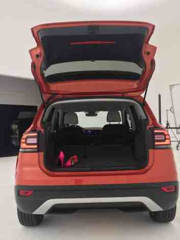 VW T-Cross Gepäckraum