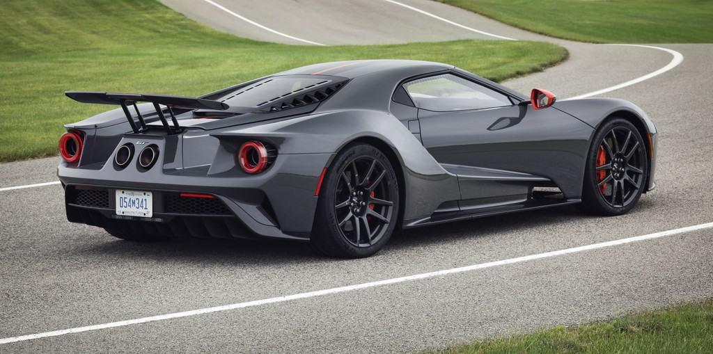 Ford GT in den USA auch als Carbon-Version