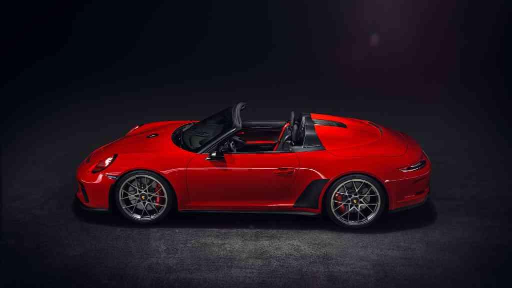 Serienstart des Porsche 911 Speedster