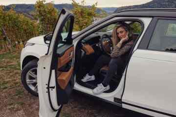 Range Rover Velar SE, Nina Weizenecker