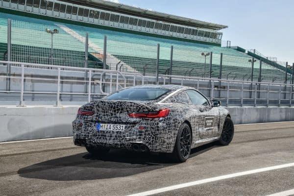 Der neue BMW M8, Heck