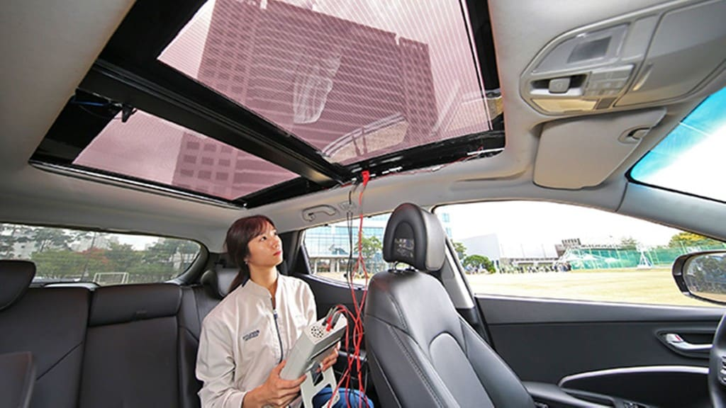 Hyundai und Kia holen Solarstrom ins Auto