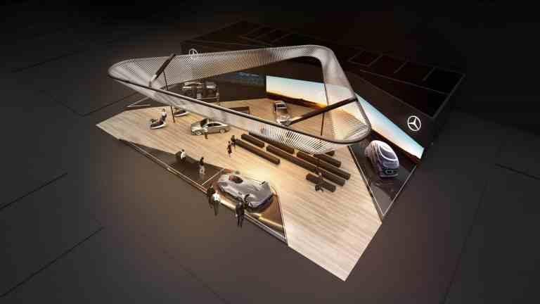 CES 2019: Weltpremiere des neuen Mercedes CLA