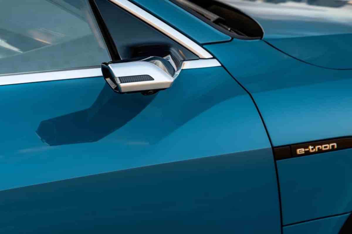 Audi e-tron, Virtueller Aussenspiegel