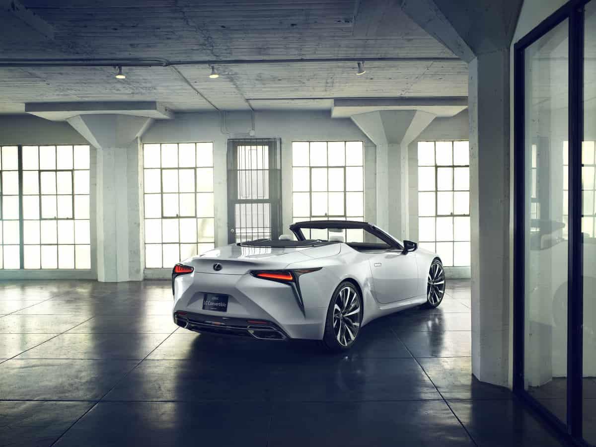 Lexus LC Cabriolet Konzept