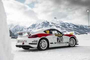 Rallye-Konzeptstudie Porsche Cayman GT4 Clubsport für die FIA-R-GT-Kategorie