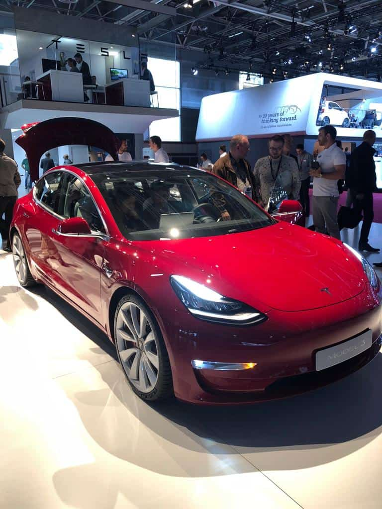Tesla Model 3 in Deutschland bestellbar
