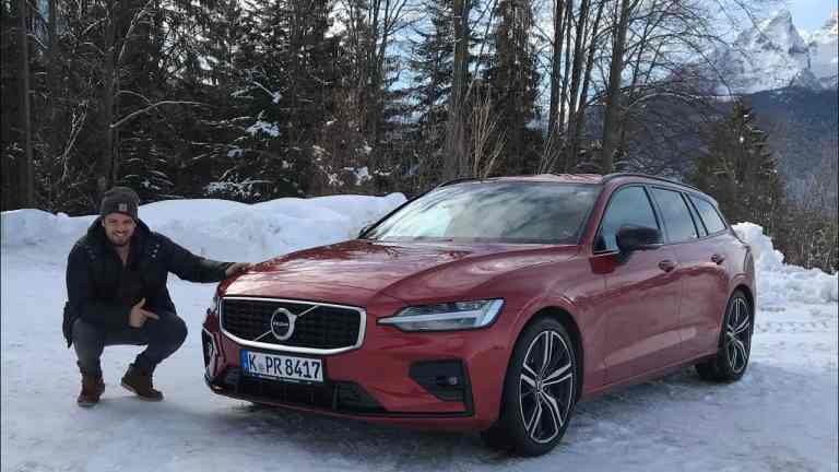 "Im Volvo V60 R-Design T6 AWD ""Geartronic"" in den Alpen - Testdrive im Video"