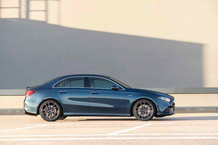 Die neue Mercedes-AMG A 35 4MATIC Limousine