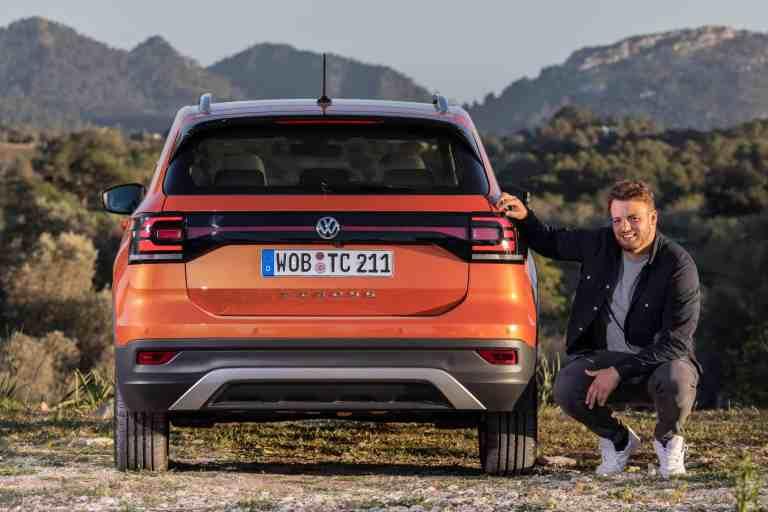 """VW T-Cross 1.0 TSI """"Style"""", Jan Weizenecker"""