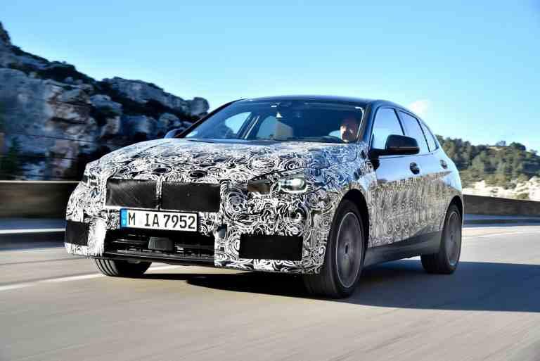 noch getarnter BMW 1er