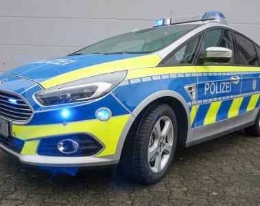 Ford S-Max Funkstreifenwagen.