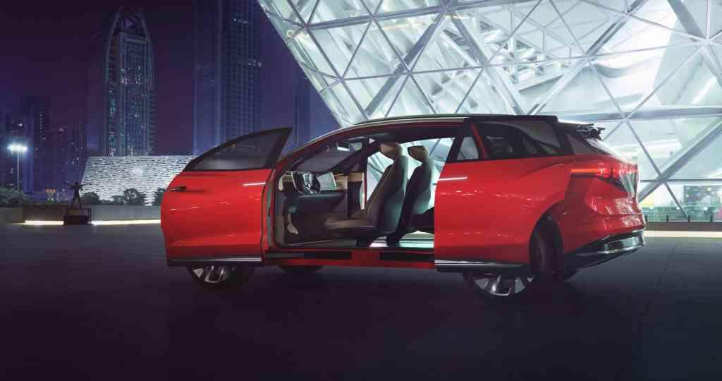 Weltpremiere des Volkswagen ID. ROOMZZ in Schanghai