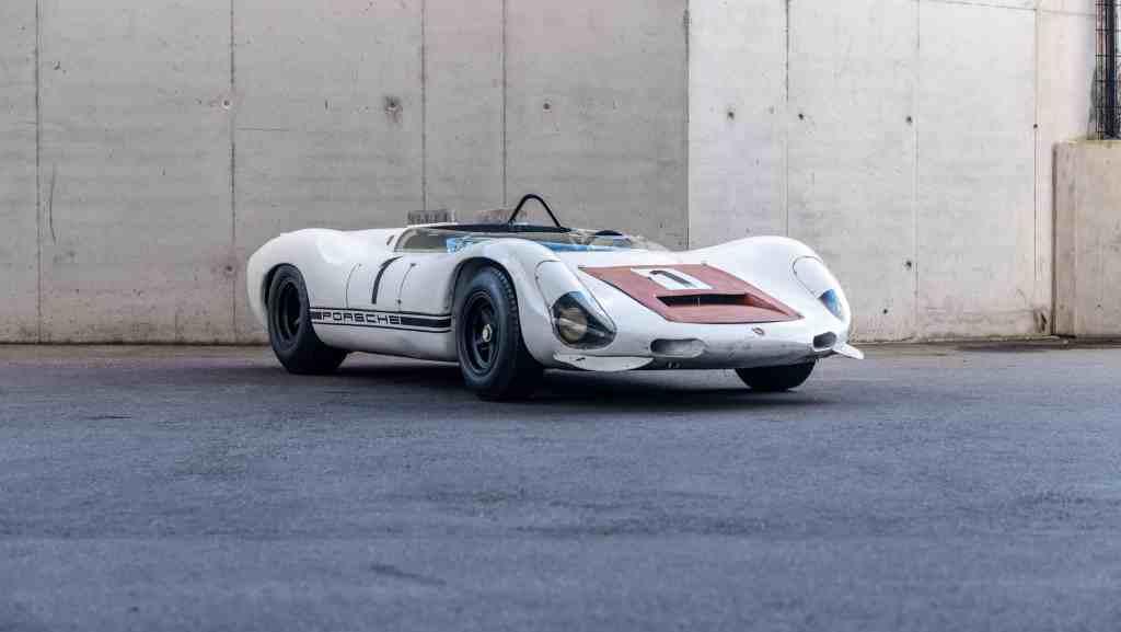 Zum Fahren zu schade: Porsche 910/8 Bergspyder