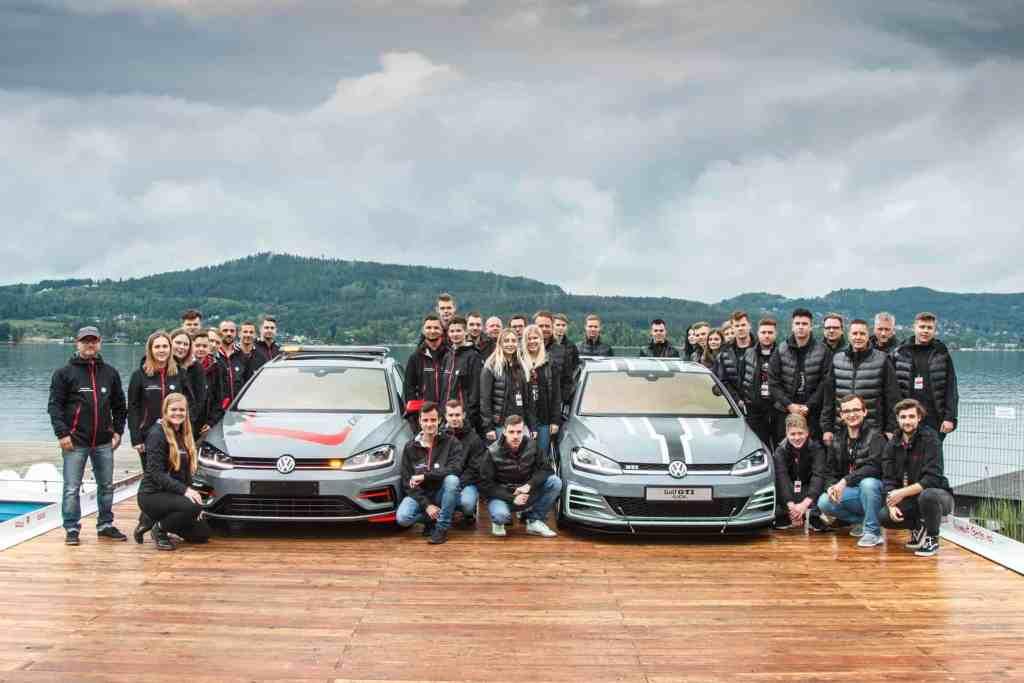 Golf-Showcars Aurora und FighteR beim GTI-Treffen am Wörthersee