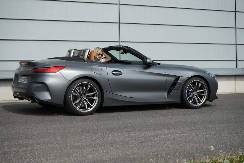 Bmw Z4 M40i 340 Ps Roadster Superlativ Fahrbericht Im Video