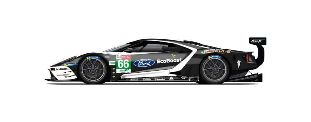 CGR Ford GT mit der Startnummer 66
