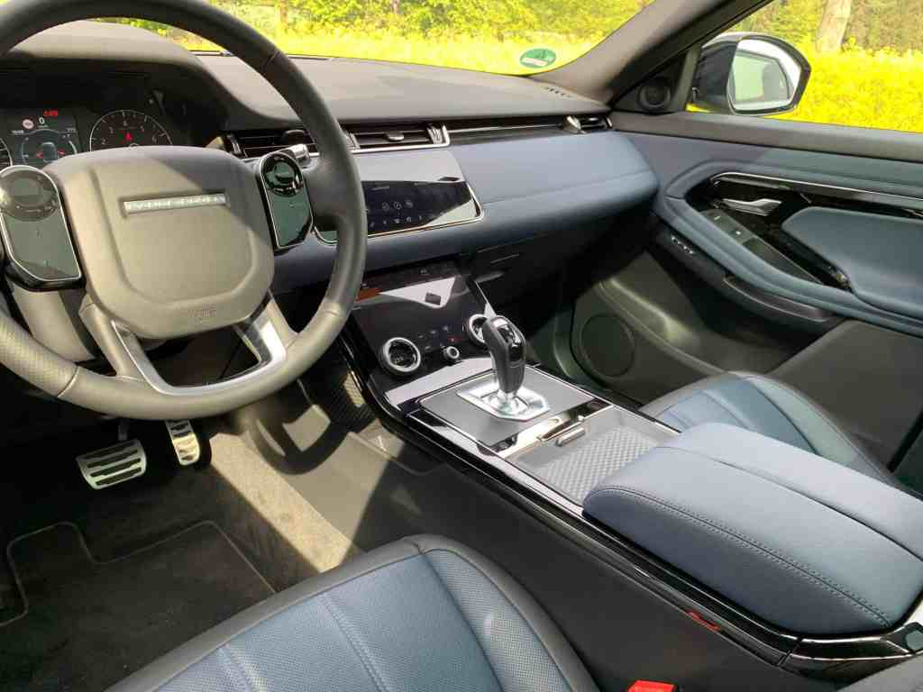 Range Rover Evoque, Innenraum
