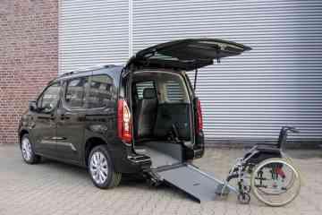 Opel Combo Life mit Rollstuhlumbau von AMF-Bruns.