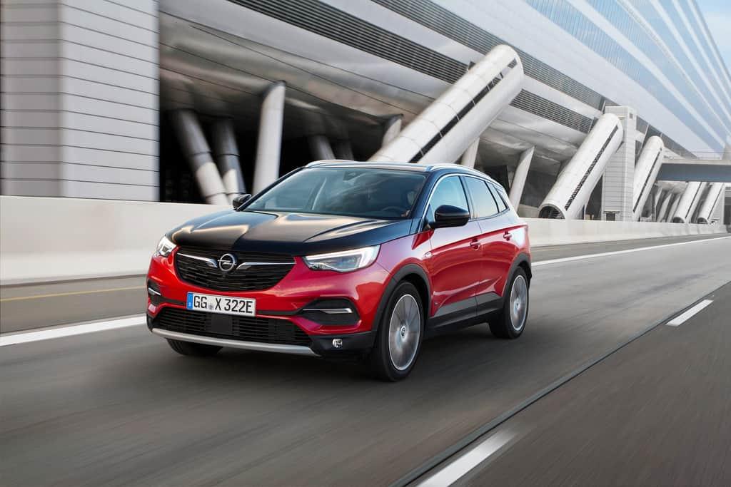 Opel Grandland X Hybrid4.