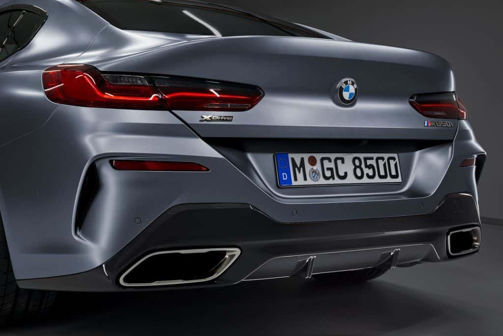 BMW 8er Gran Coupé Auspuff