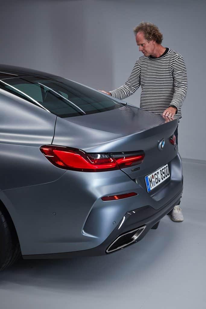BMW 8er Gran Coupé, Heck