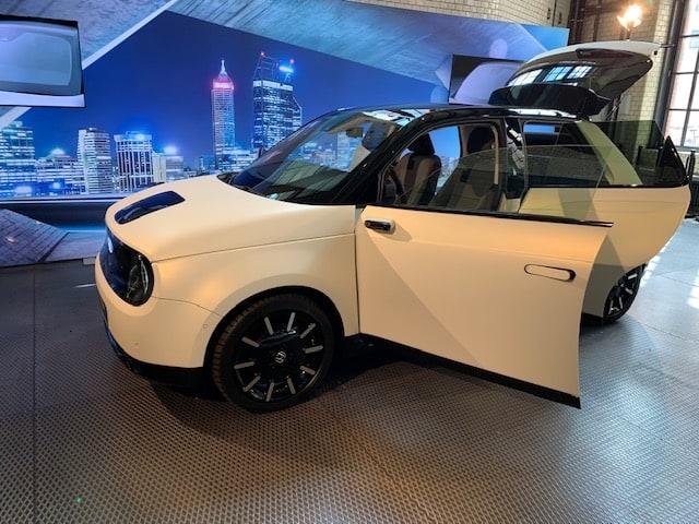 Honda e, Prototyp