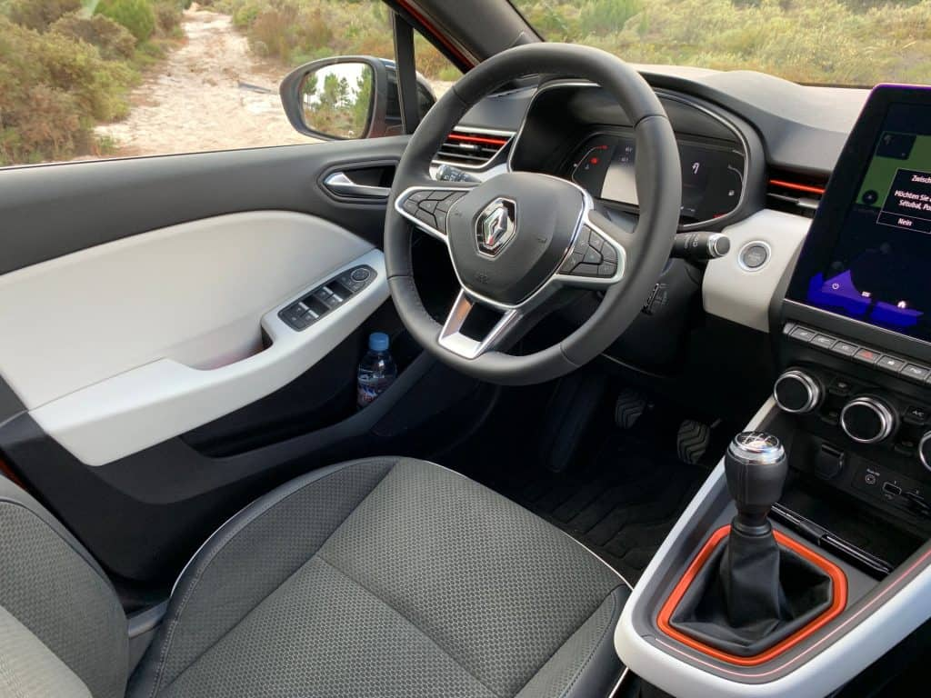Renault Clio TCe 100, Innenraum