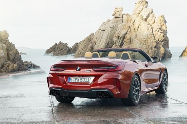Das neue BMW M8 Competition Cabriolet - Exterieur.