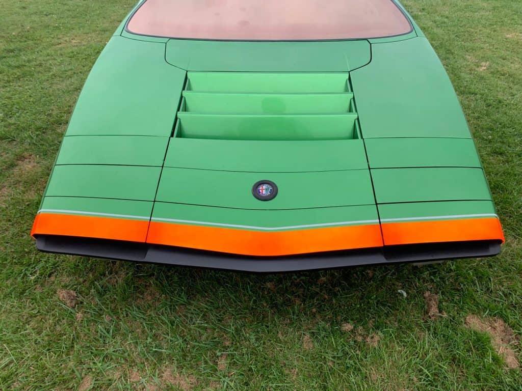 Alfa Romeo Carabo, Lüftungsgitter