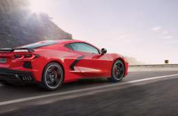 Neue Corvette Stingray, 2019