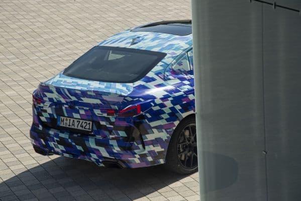 BMW 2er Gran Coupé getarnt