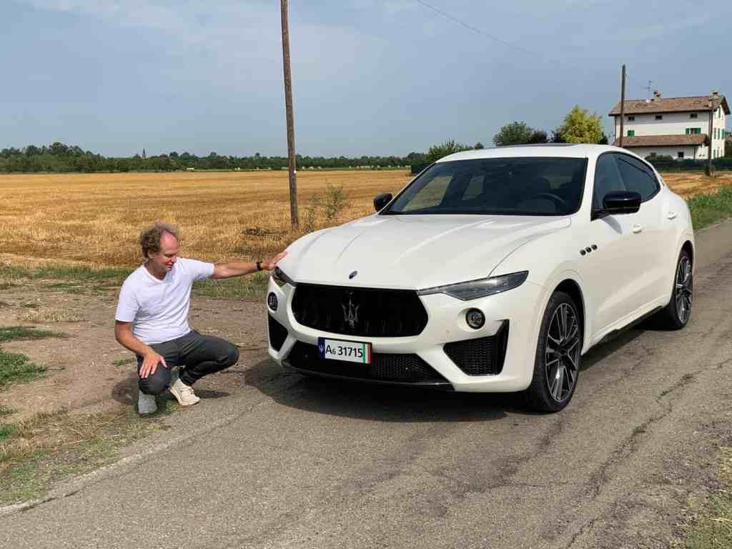 Maserati Levante Trofeo, Dr Friedbert Weizenecker