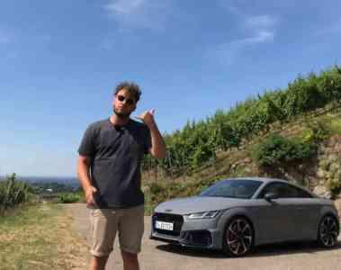 Audi TT RS, Jan Weizenecker