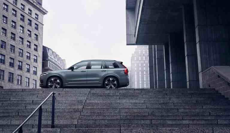 Volvo XC90 nun als Mild-Hybrid Benziner