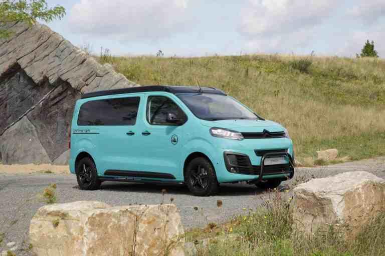 Citroën Pössl Campster Cult mit Umbau von Musketier Exclusiv Tuning.