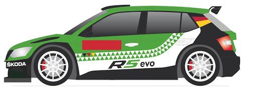 Škoda Fabia R5 evo